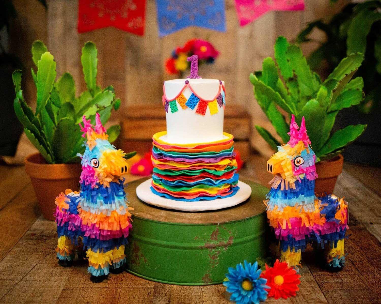 Fiesta Cake - Sugar and Salt Richmond VA