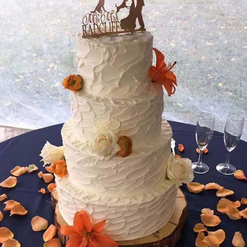 Radcliff Wedding Cake - Richmond VA